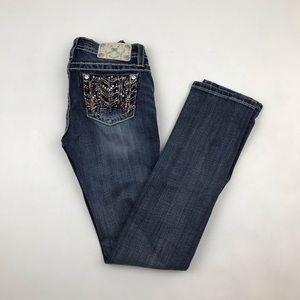 Miss Me Women's Skinny Jeans Dark Wash